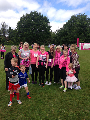 Partridge Homes at Race for Life